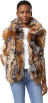 Adrienne Landau Morgan Fox Vest
