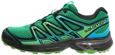 Salomon Wings Flyte 2 Trail Running Shoes Athletic Green/black/scuba Blue