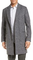 Billy Reid Men's 'Charles' Herringbone Single Breasted Coat