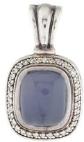 David Yurman Chalcedony & Diamond Albion Pendant