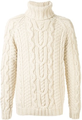 Dolce & Gabbana raglan-sleeves turtleneck jumper
