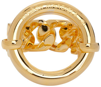 MM6 MAISON MARGIELA Gold Chain Ring