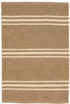 Dash & Albert Lexington Rug - Camel / Ivory - 61 x 91 cm