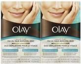 Olay Smooth Finish Facial Hair Removal Duo 1 Kit (2 Pack)