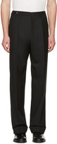 Maison Margiela Black High-Rise Trousers