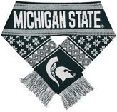 Adult Forever Collectibles Michigan State Spartans Lodge Scarf