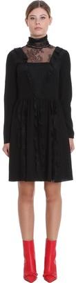 RED Valentino Dress In Black Silk