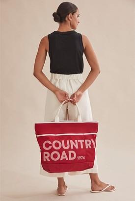 Country Road Mesh Tote Bag