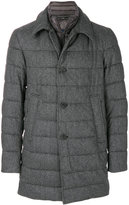 Herno padded single breasted coat
