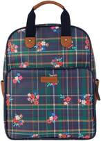 Accessorize Preppy Floral Check Backpack - Print