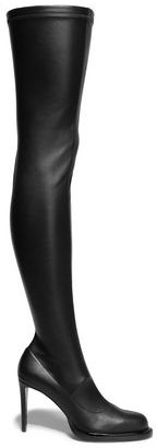 Stella McCartney Palmer Faux Stretch-leather Over-the-knee Boots