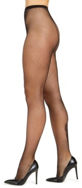 INC International Concepts Inc Women's Lace Backseam Tights, Created for Macy's