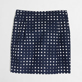 J.Crew Factory Factory printed basketweave mini skirt