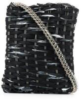Giorgio Armani Pre Owned 2000's woven shoulder bag