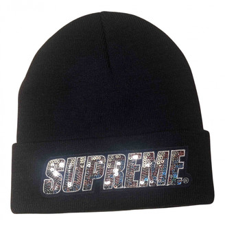 Supreme Blue Glitter Hats