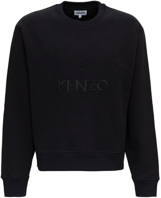 Kenzo Tona Tiger Logo Embroidery Sweatshirt