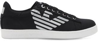 Ea7 Emporio Armani Classic Canvas Logo Sneakers