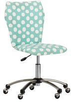 Airgo Armless Chair, Pool Painted Dot Print