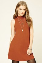 Forever 21 Mock Neck Shift Dress