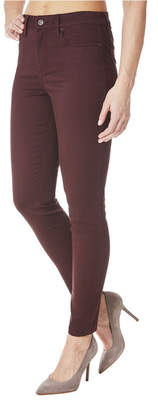 Nicole Miller Soho Colored High-Rise Skinny Jeans