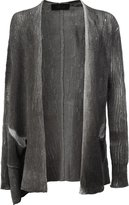 Lost & Found Ria Dunn - distressed cardigan - men - Linen/Flax/Polyamide - XS
