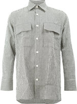 Wales Bonner gingham long sleeve shirt