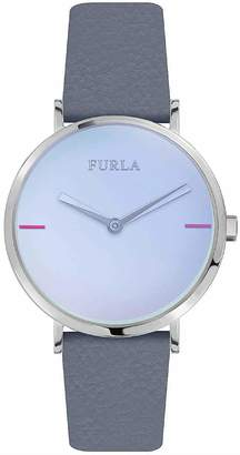 Furla Womens Analogue Quartz Watch with Leather Strap R4251108518