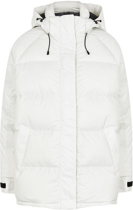 Canada Goose Approach Off-white Quilted Shell Jacket