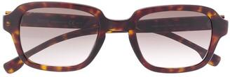 HUGO BOSS Tortoiseshell Frame Sunglasses