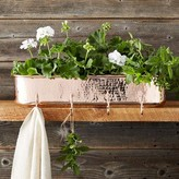 Williams-Sonoma Williams Sonoma Copper Planter with Hooks