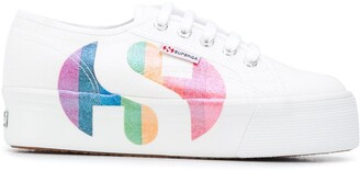 Superga Logo Patch Platform Sneakers