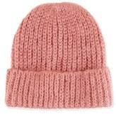 Topshop Women's Knit Beanie - Pink