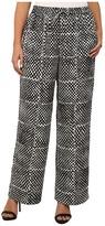 MICHAEL Michael Kors Size Printed Wide Leg Pants