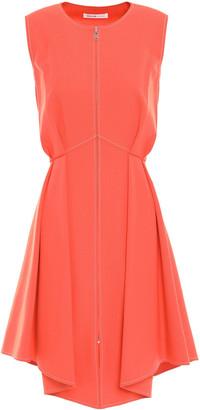 ADEAM Asymmetric Pleated Twill Dress