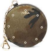 Furla 'Babylon' coin purse keyring