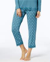 Alfani Lace-Trim Printed Pajama Pants, Created for Macy's