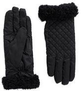 Echo Fleece-Trimmed Gloves