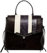 Botkier Valentina Snake Embossed Leather Backpack