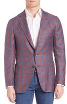 Isaia Plaid Sportcoat