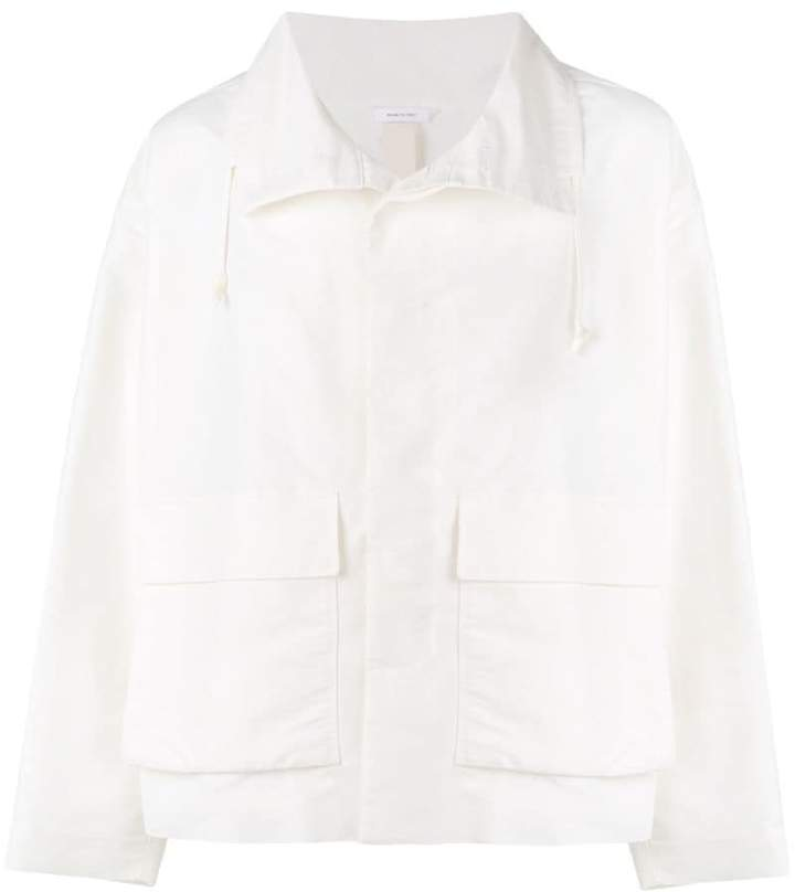 Jil Sander straight-fit jacket