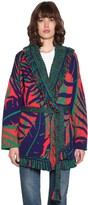 Alanui Cotton & Wool Knit Jacket