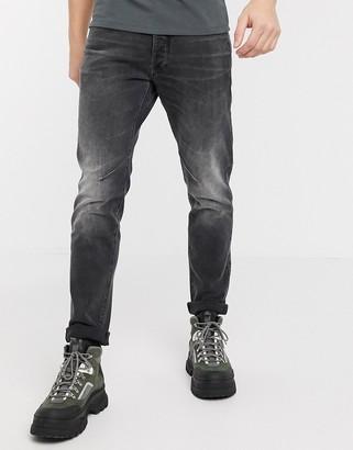 G Star G-Star D-Staq slim fit 5 pocket jeans in gray