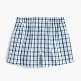 J.Crew Blue plaid boxers