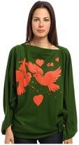 Vivienne Westwood Infinity Birds Poncho