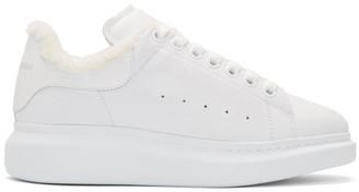 Alexander McQueen White Joey Sneakers