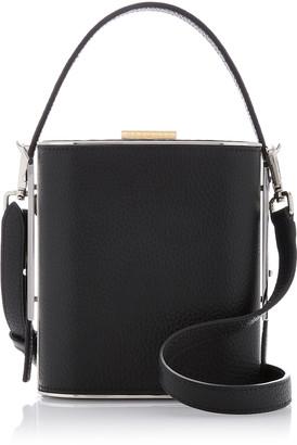 Hayward Mini Field Textured-Leather Bag