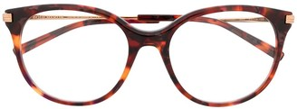 Boucheron Tortoiseshell Cat-Eye Glasses