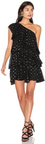 Cynthia Rowley One Shoulder Ruffle Dress
