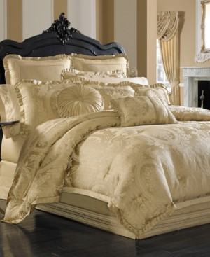 J Queen New York Napoleon Gold California King 4-Pc. Comforter Set Bedding