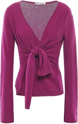 Autumn Cashmere Knotted Cashmere Top